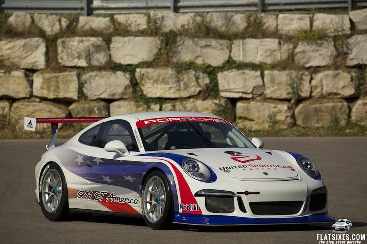 We love the Porsche race car... and it seems to only get better & better! Specs and Pix of the 911 GT America Built for 2014 United Sports Car Racing Series