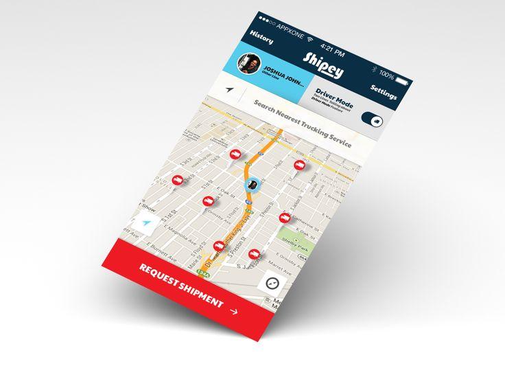 Application Design for Shipey [2013]