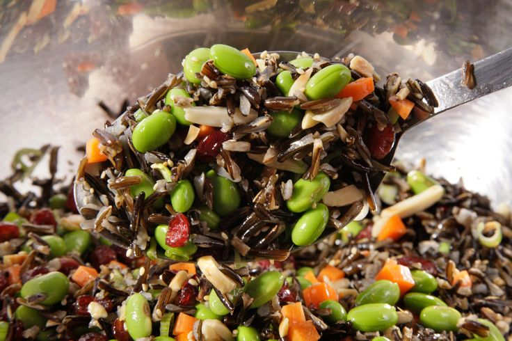 Wild Rice and Edamame Saladhttp://www.chow.com/recipes/29466-wild-rice-and-edamame-salad