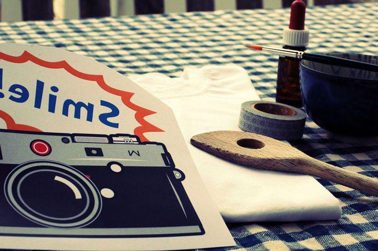 Einfach genial: Das Lavendeldruckverfahren, mit dem Fotos und andere gedruckte Vorlagen im sogenannten Umdruckverfahren auf Stoffe aufgebracht werden können #DIY #selbstgemacht