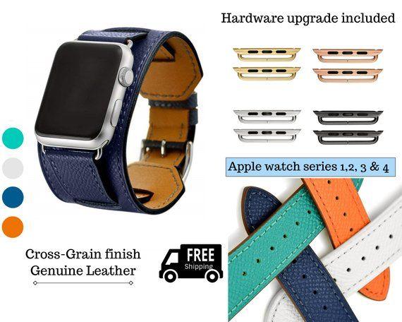 Apple Watch Band 38mm Women Apple Watch Bands 42mm Orange Leather Apple Watch Strap Men Apple 38mm Apple Watch Band Apple Watch Bands Apple Watch Bracelets