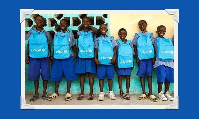 Sabia que pode transferir um valor à sua escolha, a partir do saldo da sua Lista de Casamento Online Zankyou, para a UNICEF?