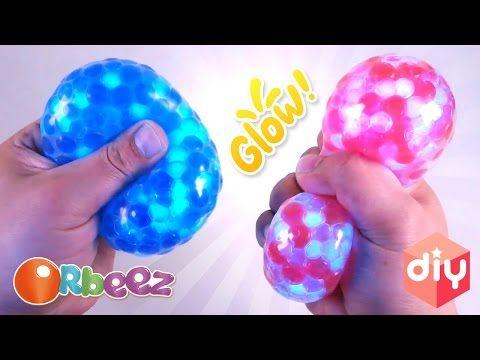 Diy Squishy Balloon : DIY GLOW ORBEEZ SQUISHY STREES BALL! UV Orbeez Balloon! Make Kids Surprise Toys - YouTube DIY ...