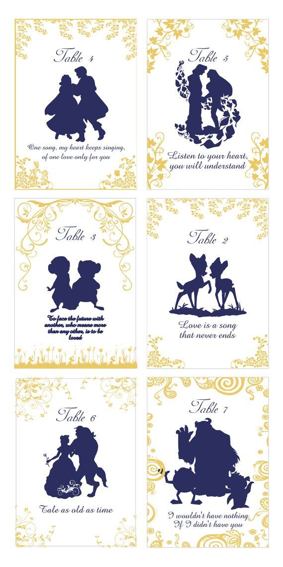 73d3bb3de5e Story Book Quotable Table Numbers Select Your Quotable Cards ...