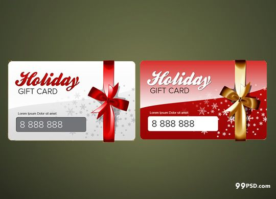 Hello friends today you can download free christmas gift cardsthese cards are looking very for Gift card template psd