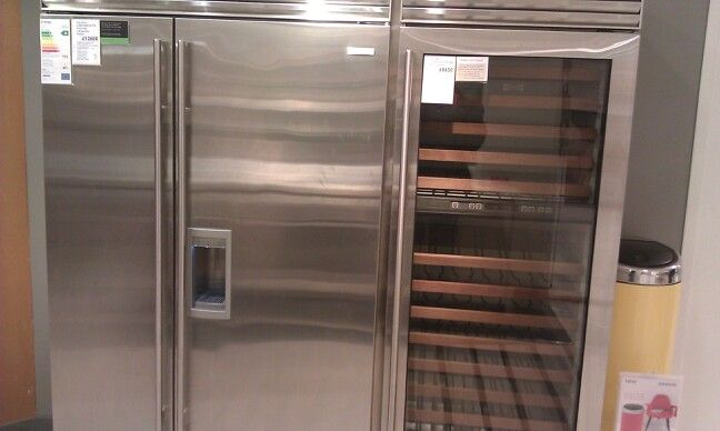 The £30k fridge...