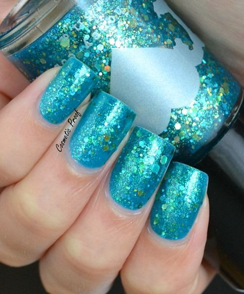 15 Teal Nail Designs - The 25+ Best Teal Nail Designs Ideas On Pinterest Nails