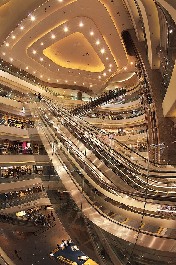 Times Square Shopping Centre, Causeway Bay, Hong Kong