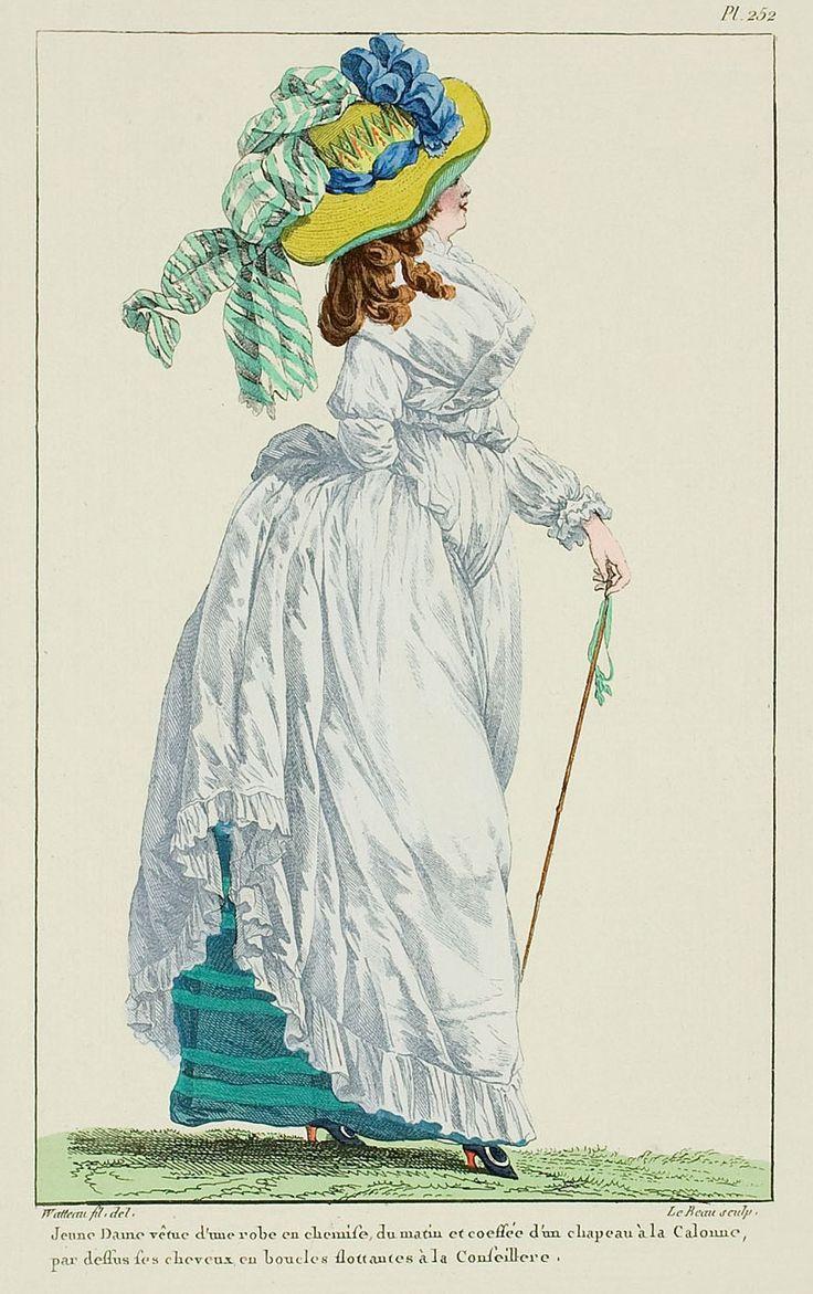 1787 A Most Beguiling Accomplishment: Galerie des Modes, 53e Cahier, 5e Figure
