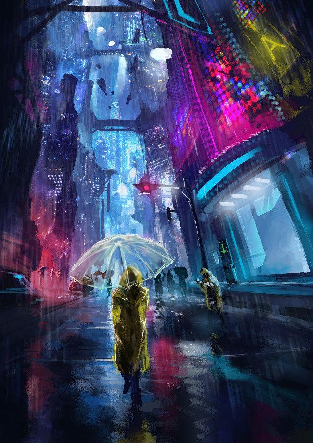 cyberpunk 1, Paweł Latkowski on ArtStation at https://www.artstation.com/artwork/lLDO5