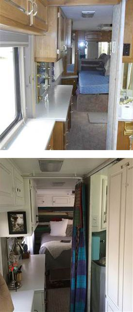 We'd move in! See what this retro RV looks like after a beautiful makeover.