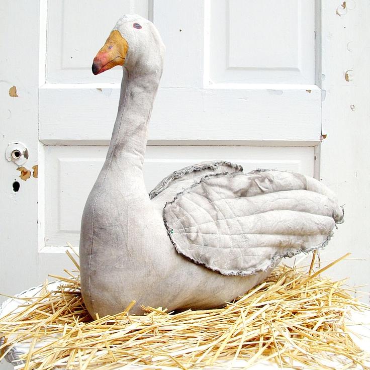 Sewing Inspiration- Goose, by Susan Havens-Morris of Middleburg Folk Art Studio