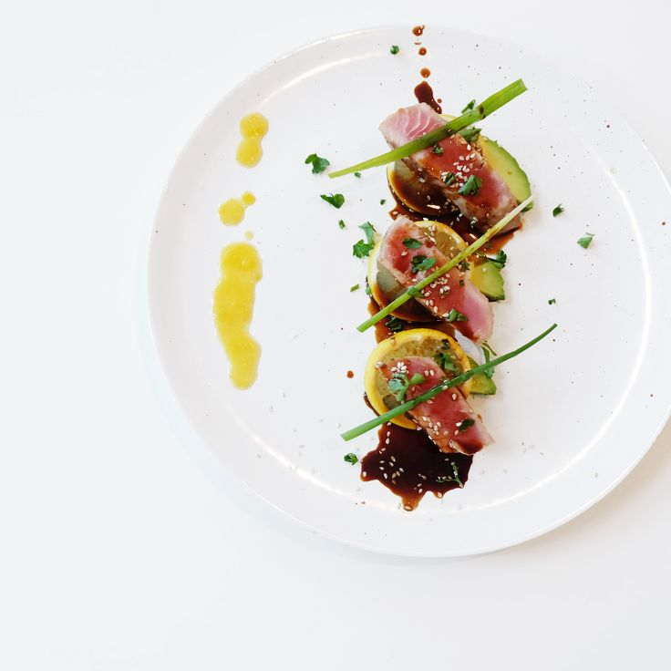 Wanna try my seared tuna? Served with my pineapple habanero hot sauce of course. Order it here: https://www.kickstarter.com/projects/919123256/jonny-hetherington-habanero-hot-sauce-trio #HabaneroSauce #pineapple #ArtOfDining #Vancouver #hotsauce #cooking #chef #food  #summer #yummy #yum #savor #eat #eater #fish #tuna #picoftheday #meal  #habanero #spicy #avocado #lemon #dinner #meal