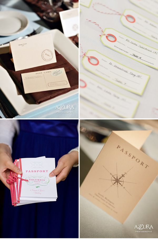 how to make film canister wedding invitations%0A Travel theme wedding