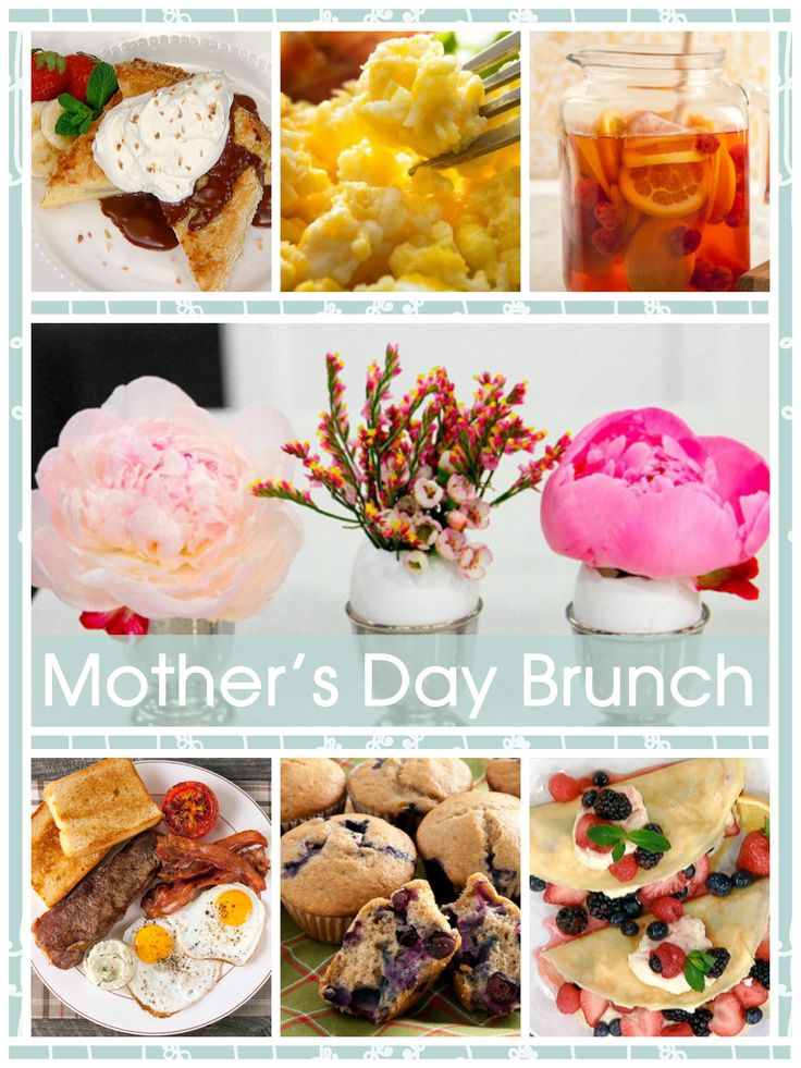Great brunch ideas to surprise mom on Mother's Day.