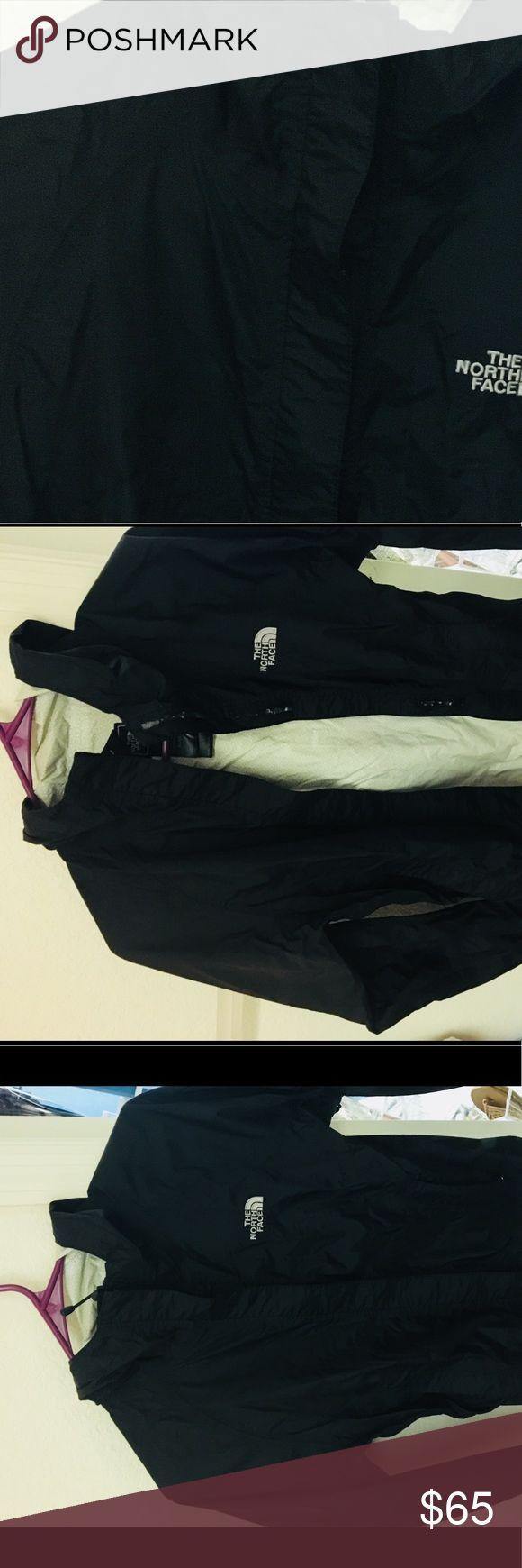 North face jacket Black north face windbreaker/rain jacket North Face Jackets & Coats