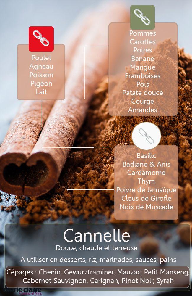 Parce que la cannelle apporte une note sucrée, pensez à elle pour réduire les quantités de sucre dans vos recettes !