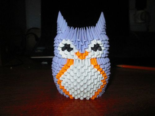 3d Origami Owl 3d Origami Pinterest 3d Origami Origami And 3d