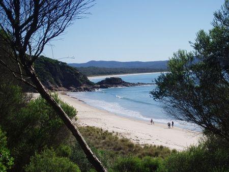 Endless number of beautiful secluded beaches ~ Merimbula, NSW, Australia