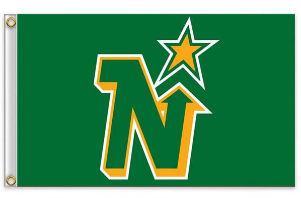 Миннесота норт старз нхл национальная хоккейная лига 3ft x футов полиэстер баннер полет 150 * 90 см пользовательских флаг спорт