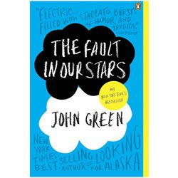 The Fault in Our Stars novel - By John Green. Despite the tumor-shrinking medical miracle that has bought her a few years, Hazel has never been anything but terminal, her final chapter inscribed upon diagnosis. But when a gorgeous plot twist named Augustus Waters suddenly appears at Cancer Kid Support Group, Hazel's story is about to be completely rewritten.