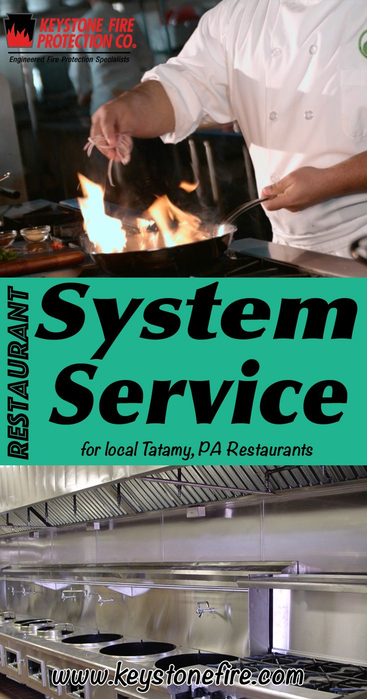 Restaurant Fire Suppression System Service Tatamy, PA (215) 641-0100 Local Pennsylvania Restaurants Discover the Complete Fire Protection Source.  We're Keystone Fire Protection.. Call us today!