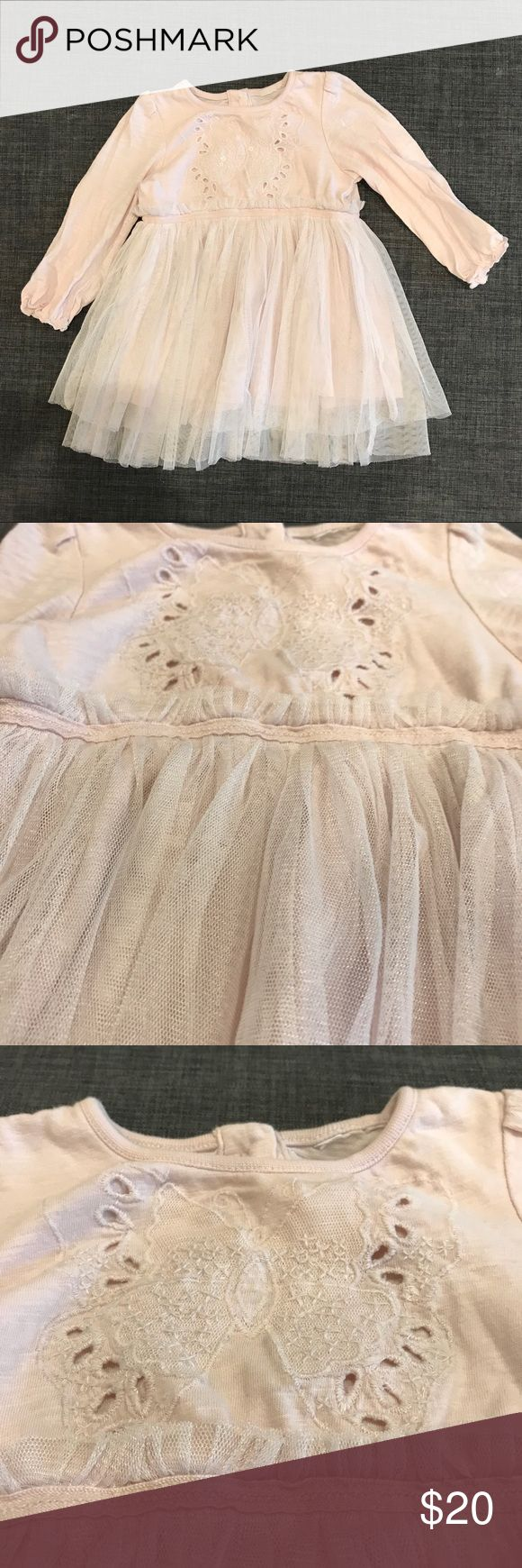 Next Toddler dress, size 6-9M Gently used baby dress in excellent condition. Very comfortable. I️t fit my baby girl passed 9 months. Tag notes up to 20lbs. Next is UK brand that makes quality clothing items. Check out my closet for more items. Next Dresses Casual