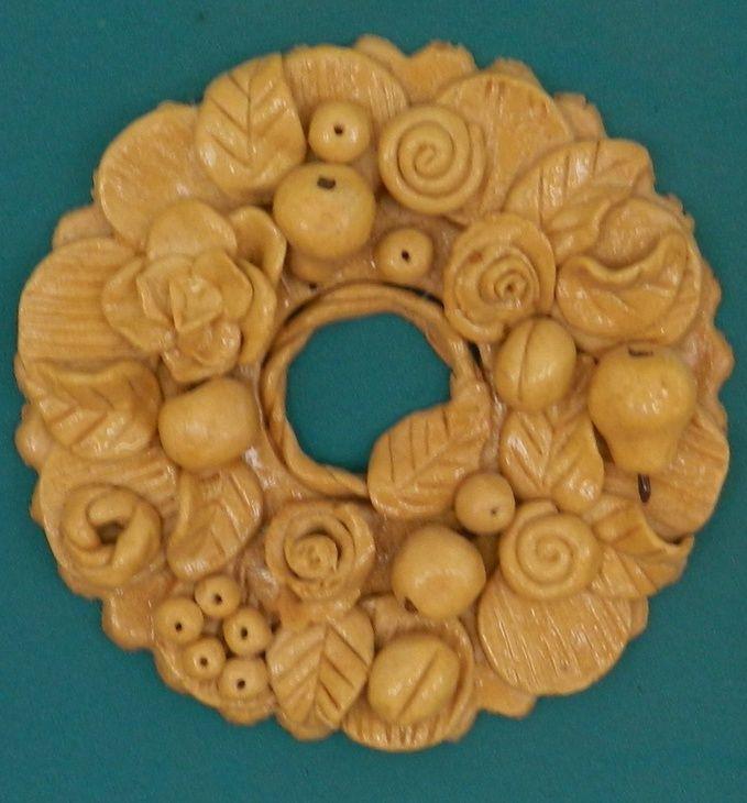 Лепка: урожай (соленое тесто, настенные украшения) ФОТО #1
