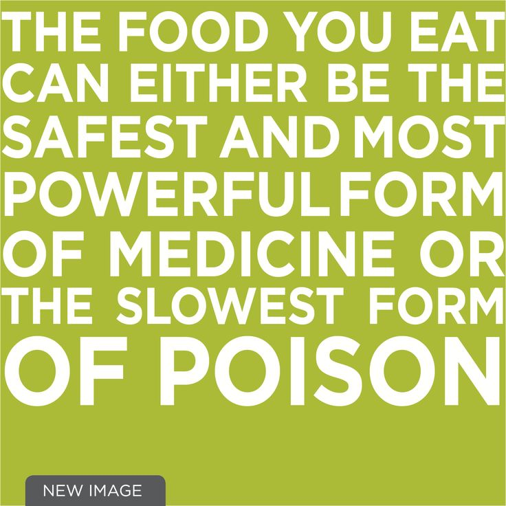 The food you eat can either be the safest and most powerful form of medicine or the slowest form of poison - low carb lifestyle