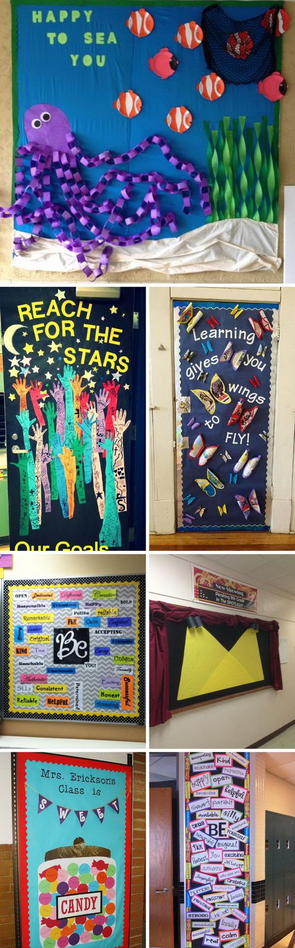 Creative Bulletin Board Ideas for Classroom Decoration.