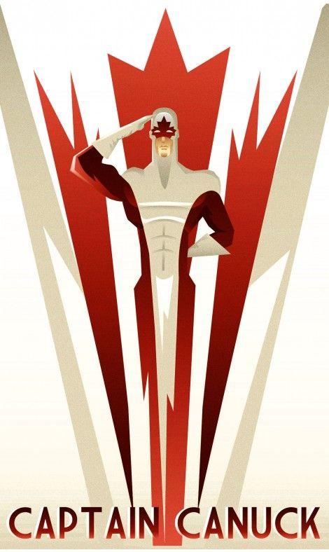 Art Deco heroes
