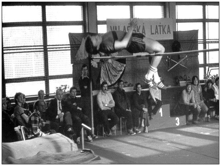 Valašská laťka 1984, ZŠ Masarykova (Leninova), #ValašskéMeziříčí #Valmez #JiříHrdý #Morava #Beskydy #skokvysoký #Valaška #atletika
