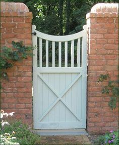 8 best Garden Gate images on Pinterest Wooden garden gate Front