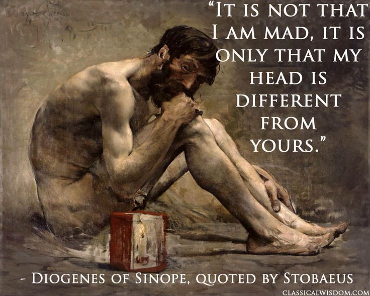 He has the most who is most content with least ... diogenes