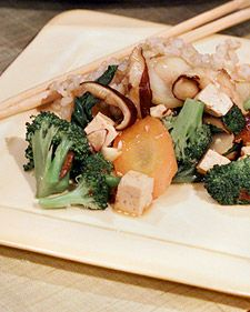 """Buddha's Feast (Vegetable Stir-Fry) - When looking for a healthy and easy-to-prepare dinner, few things satisfy more than a vegetable stir-fry. In the """"Taste for Living World Cookbook,"""" former financier Mike Milken and chef Beth Ginsberg share their own unique recipe for this classic dish, a healthy and tasty stir-fry that will please vegetarians and meat eaters alike."""