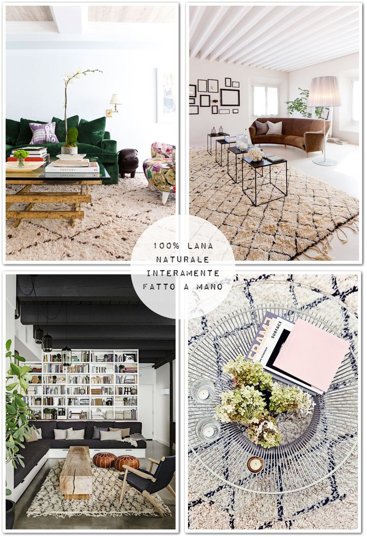 Beni Ourain, tappeto marocchino - Shabby Chic Interiors