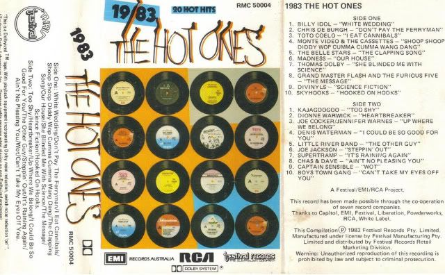 Tapes: 1983 1983 the hot ones