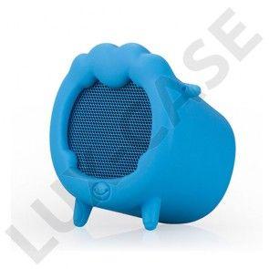 Momax Musik Får Trådløs Bluetooth Mini-Højtaler med Mikrofon – Blå