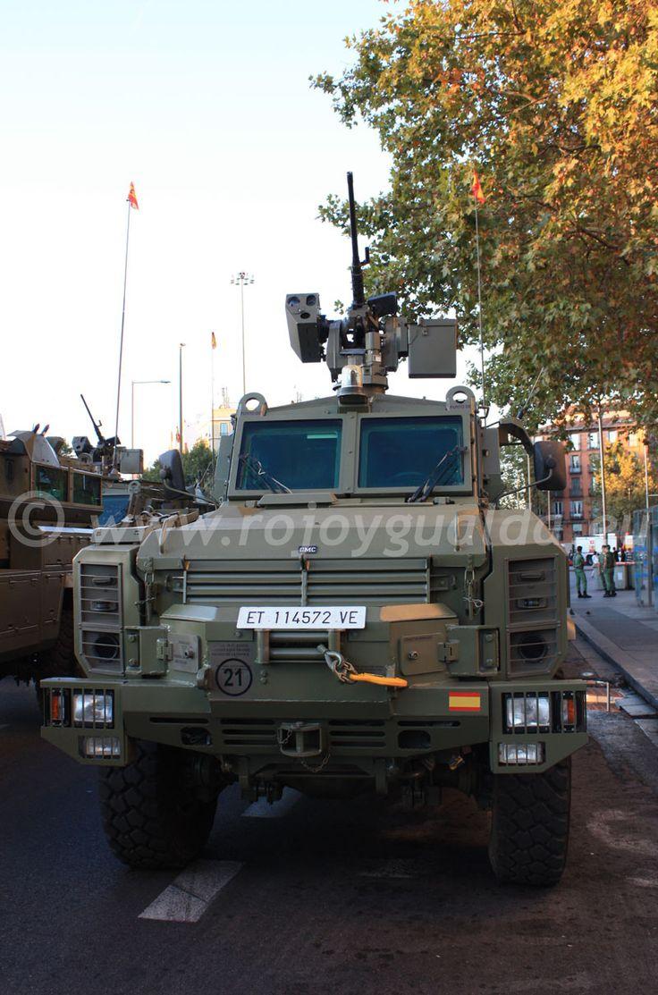 Vehículo táctico de pelotón RG-31 Antílope | Rojo y Gualda, Información y Análisis #rojoygualda