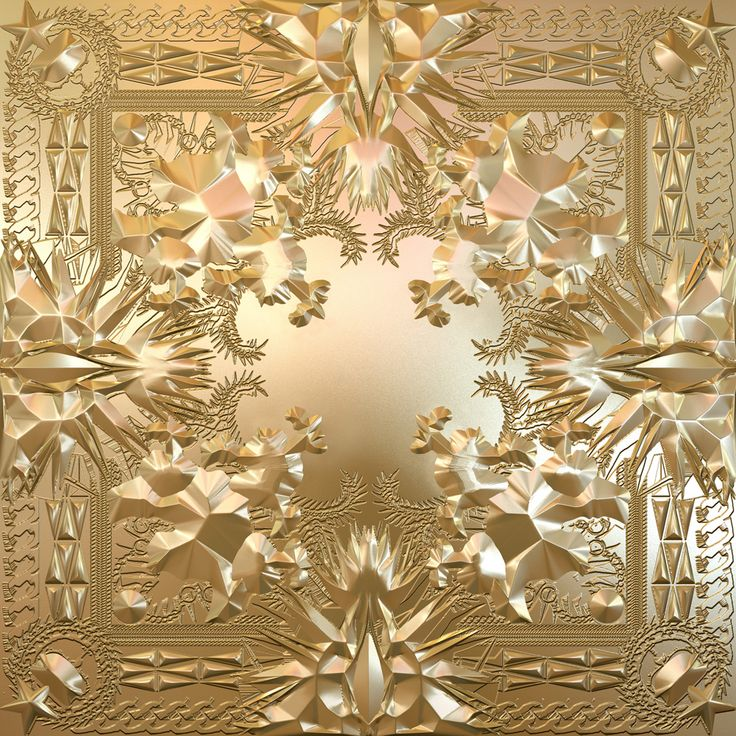 Watch the Throne (Jay Z, Kanye West) cover art by fashion designer Riccardo Tisci from GIVENCHY