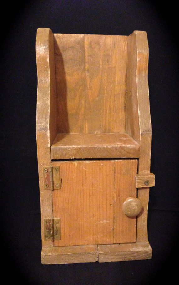 Primitive Wood Cupboard ~ Primitive cupboard handmade wooden cabinet small rustic