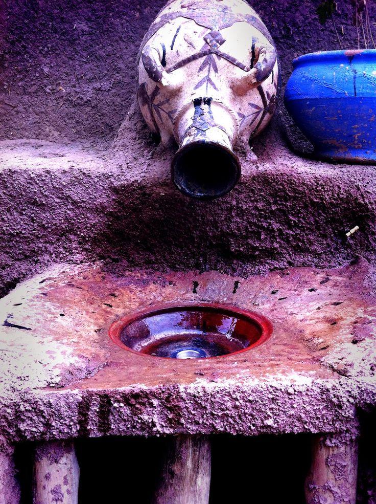 ceramic pot sink rainwater pipe morocco