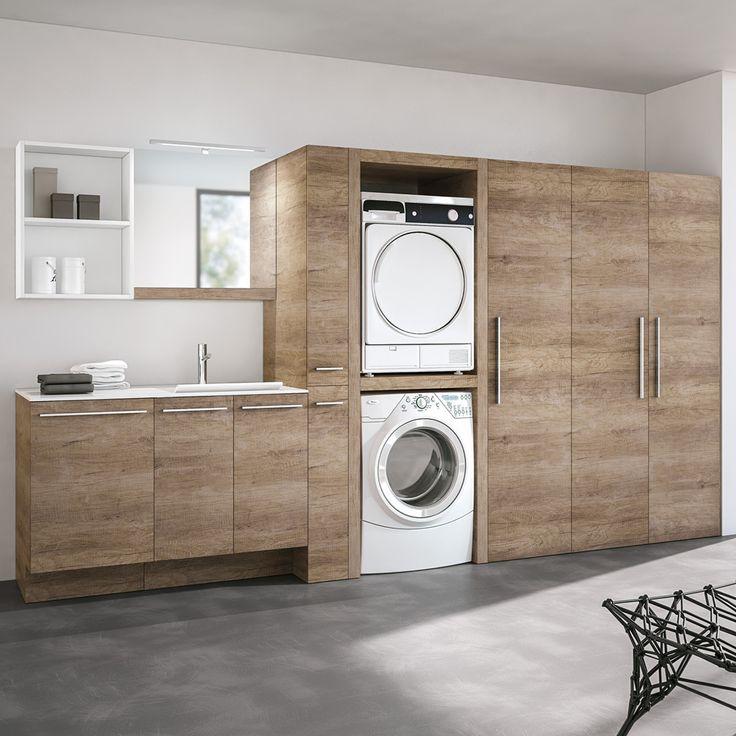 Oltre 25 fantastiche idee su lavanderia in bagno su - Mobili per lavanderia di casa ...