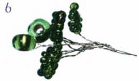 Мастер класс: красивое дерево из бисера инь янь со схемой плетения (дерево)