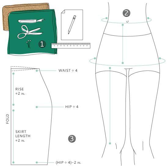 25  best ideas about Pencil skirt tutorial on Pinterest | Knit ...