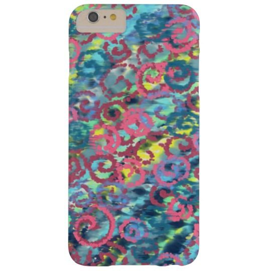 Pink Spirals Happy Design Barely There iPhone 6 Plus Case   design by Charles Bridge 7x, buy at The Spiral Store  #iphone#spiral#phonecase
