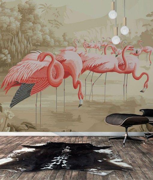Фламинго (арт. mono-22)