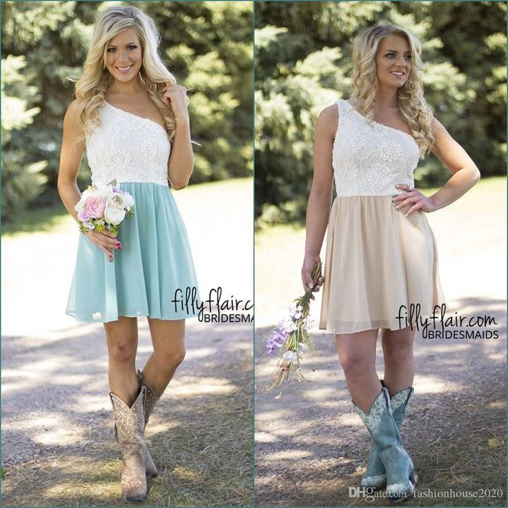 Sexy Short Country Bridesmaid Dresses One Shoulder Lace Bridesmaids Dress Cheap Wedding Guest Dress Prom Party Gowns Bridesmaid Dresses Country Bridesmaid Dresses Short Bridesmaid Dresses Online with $78.86/Piece on Fashionhouse2020's Store | DHgate.com