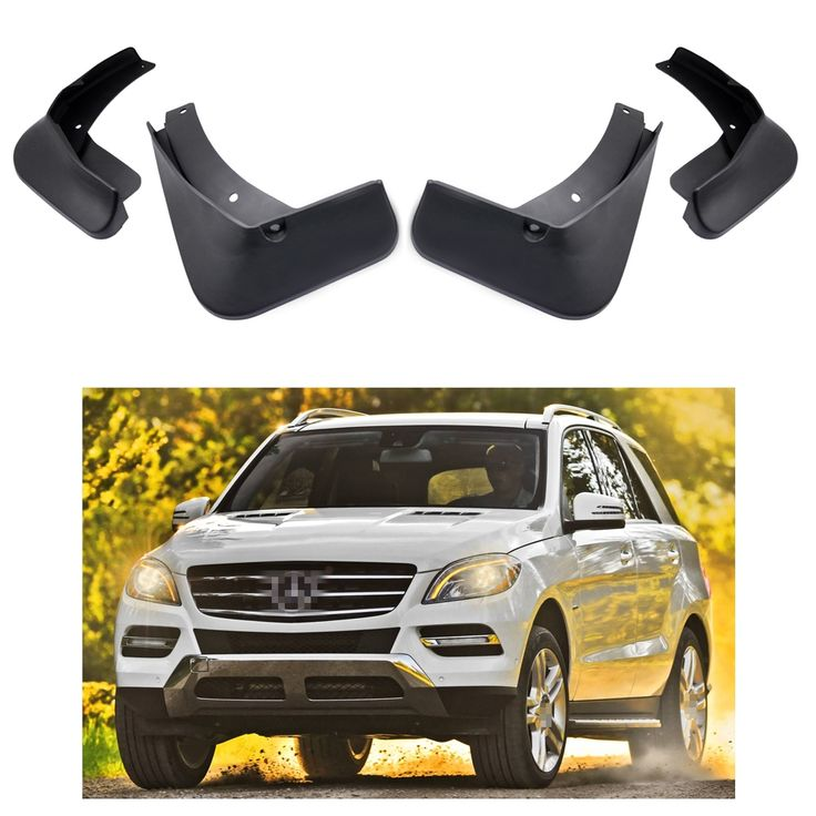 94.99$  Buy now - 4Pcs Car Mud-guards Fender For Mercedes-Benz ML350 (W166) 2013-2014  #buychinaproducts