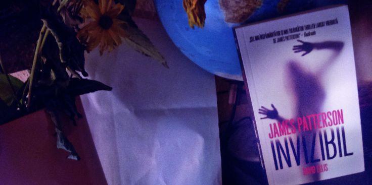 Invizibil. James Patterson. Book cover